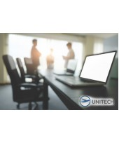 """Working team of the """"Ukrainian Research and Development Institute of Elastomeric Materials and Products"""" visited UNITECH Company with working visit"""
