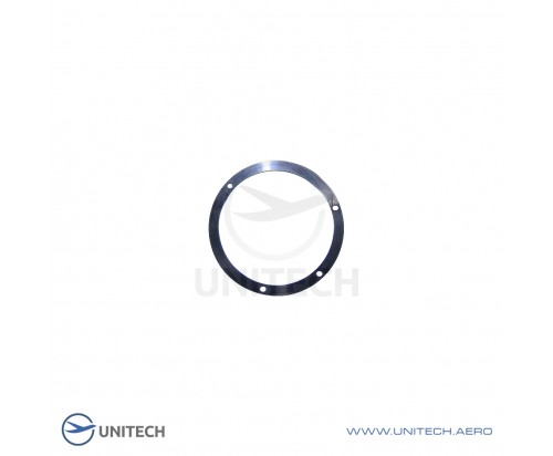 Rubber sealing gasket made of oil and gasoline resistant rubber