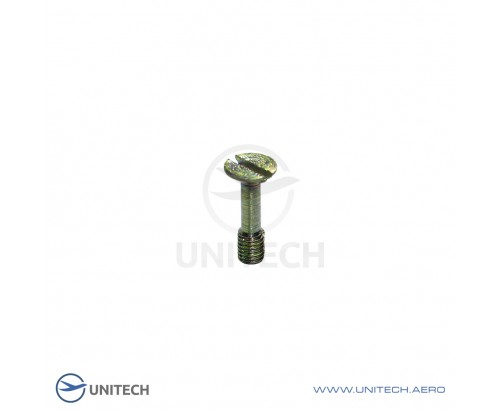 Slotted countersunk head bolts <90˚